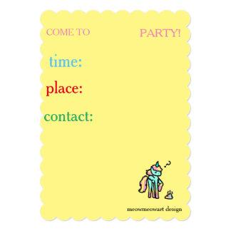 cute kids invitations