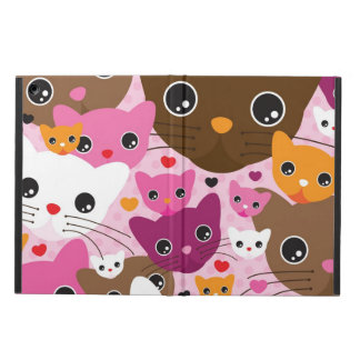 cute kitten cat background pattern cover for iPad air