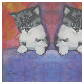 Cute Kitten Fabric