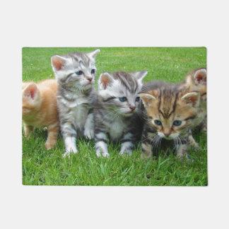 Cute Kitten Family Doormat
