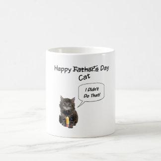 Cute Kitten Father's Day Mug