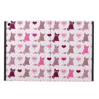 Cute kitten girls pattern iPad air cover