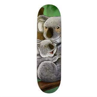 Cute Koala and Baby Custom Skate Board