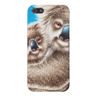 Cute Koala and Baby iPhone 5 Cover