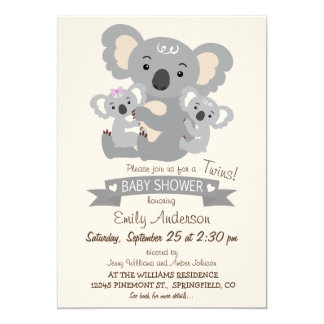 Browse Zazzle Twins Baby Shower invitations and customise with your own text, photos or designs.