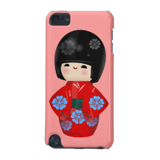Cute Kokeshi Doll iPod-Touch Case
