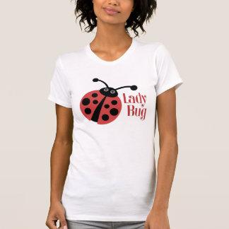 Cute Ladybug Animal Print Tshirt