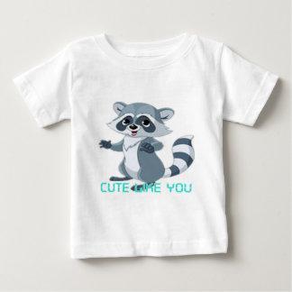 "cute like you ""racoon"" baby T-Shirt"