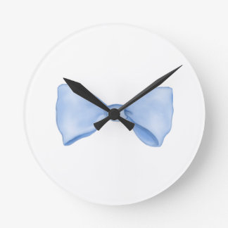 Cute Little Blue Bow Tie Wallclock