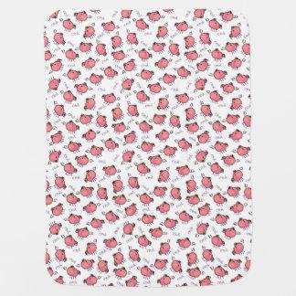 Cute Little Pigs Baby Blanket