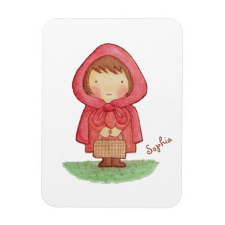 Cute Little Red Riding Hood Storybook Magnet
