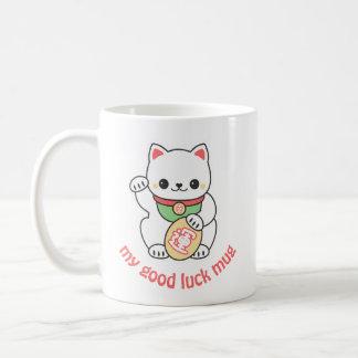 Cute Maneki Neko Coffee Mug