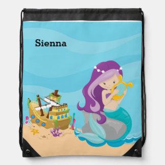 Cute Mermaid Rucksacks