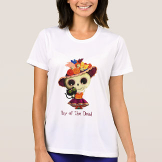 Cute Mexican Day of The Dead Girl T-shirt