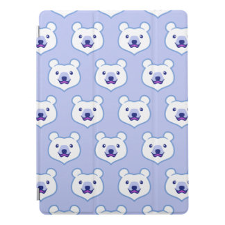 Cute Minimalist Cartoon Polar Bear iPad Pro Cover