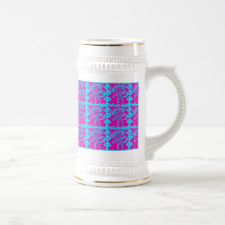 Cute Monkey Magenta Teal Animal Pattern Kids Gifts Coffee Mugs
