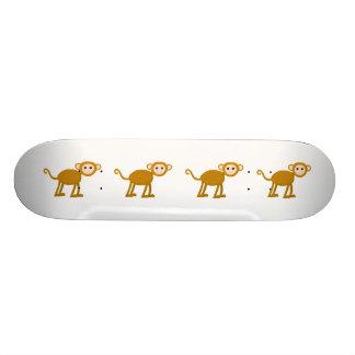 Cute Monkey. Skateboard Deck
