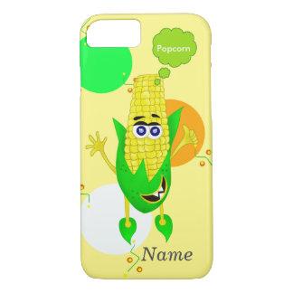 Cute monster corn illustration iPhone 8/7 case