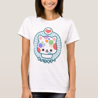 Cute Mushroom Kitty T-Shirt