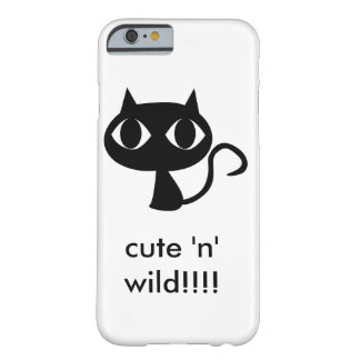 cute n wild barely there iPhone 6 case