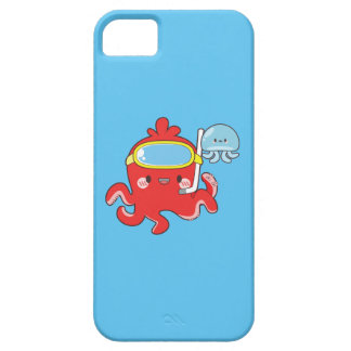 Cute Octopus Barely There iPhone 5 Case