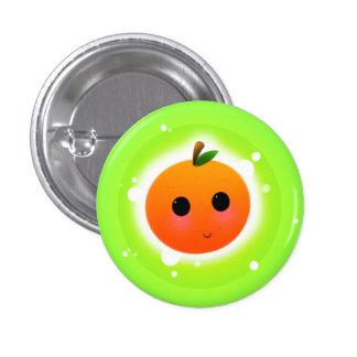 Cute Orange 3 Cm Round Badge