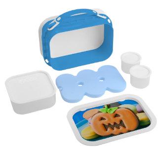 Cute orange Halloween pumpkin Lunchboxes