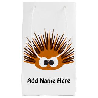 Cute Orange Sea Urchin Small Gift Bag