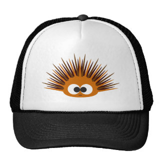 Cute Orange Spiny Sea Urchin Cap