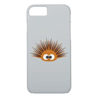 Cute Orange Spiny Sea Urchin iPhone 7 Case