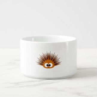 Cute Orange Spiny Sea Urchin Chili Bowl