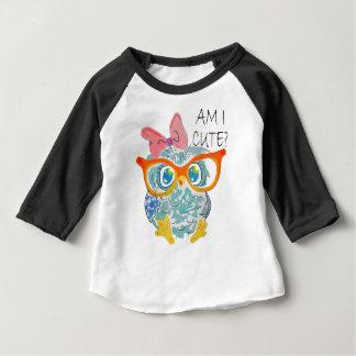 Cute Owl Baby T-Shirt