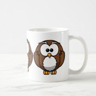 Cute Owl Basic White Mug