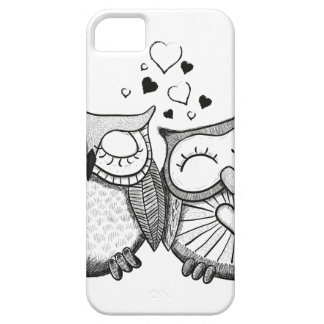 Cute owl couple case for the iPhone 5