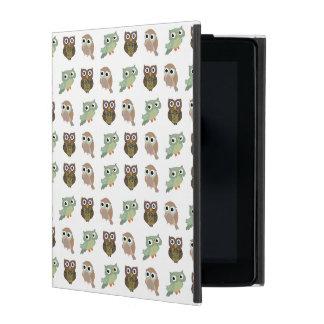 Cute owls iPad cover