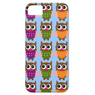 Cute Owls Pattern iPhone Case