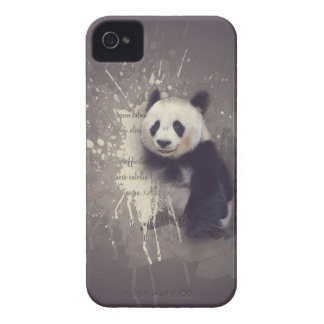 Cute Panda Abstract iPhone 4 Cover