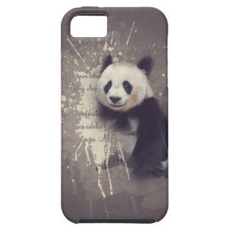 Cute Panda Abstract iPhone 5 Cases