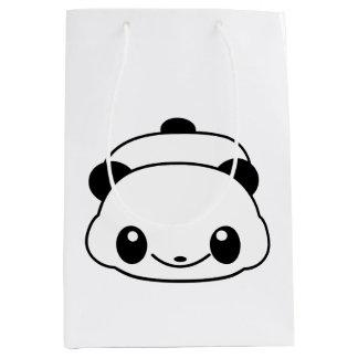 Cute panda medium gift bag