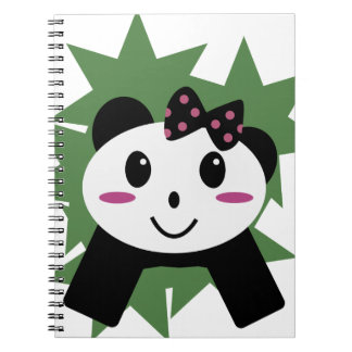 Cute panda notebooks