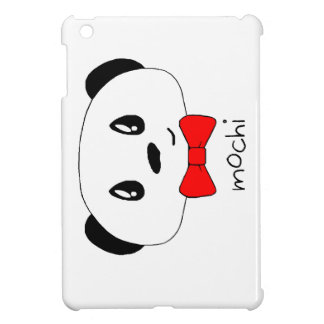 Cute panda with bowtie iPad mini case