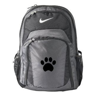 Cute Paw Print Nike Backpack