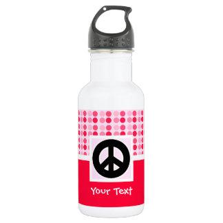 Cute Peace Sign 532 Ml Water Bottle