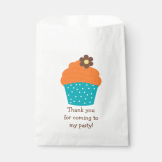 Cute Personalized Cupcake Favor Bags Favour Bags