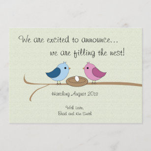 Baby announcement cards nz