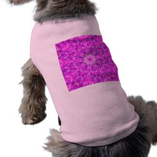 Cute Pink Dahlia Kaleidoscope Shirt