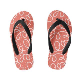 Cute Pink Girls Flip Flops