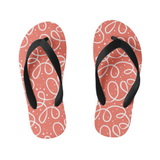 Cute Pink Girls Flip Flops Thongs