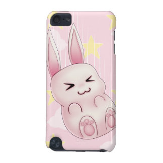 Cute pink Kawaii Bunny rabbit falling from stars iPod Touch (5th Generation) Case