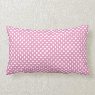 Cute Pink Polka Dots Pattern Cushions